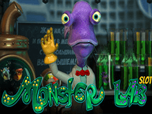 Игровой онлайн автомат Monster Lab в казино
